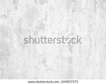 texture of white concrete wall - stock photo