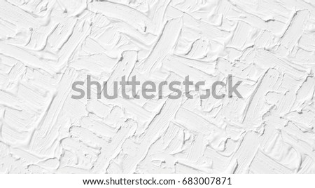 Texture White Oil Paint Background Painted Stock Photo Royalty Free
