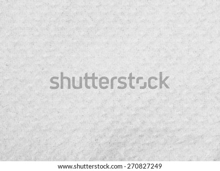 Texture of white tissue paper