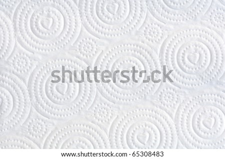 Texture of white tissue paper - stock photo