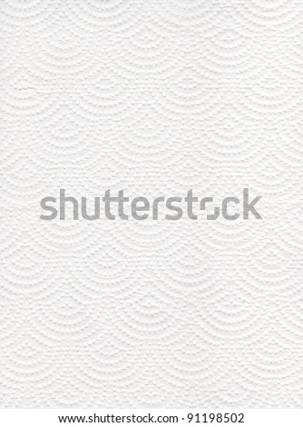 Texture of white tissue paper background - stock photo