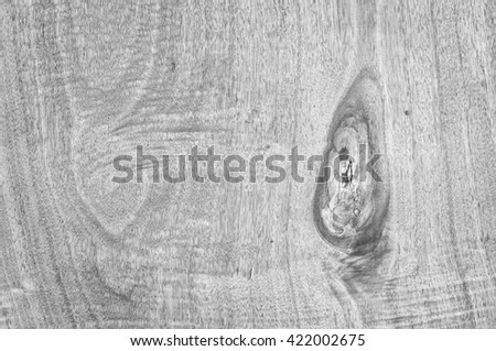 Texture of wood background in black and white style - stock photo