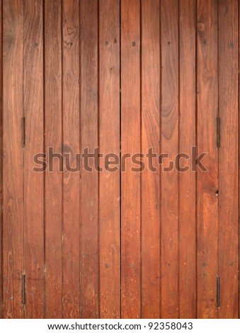 Texture of Wood panel for background vertical - stock photo