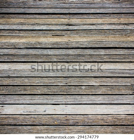 texture of wooden boards floor - stock photo