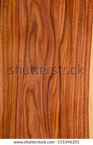 texture of wooden veneer planks closeup - stock photo