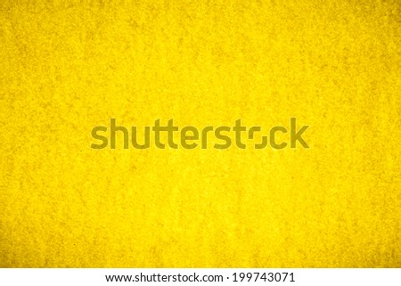 Texture of yellow paper background.