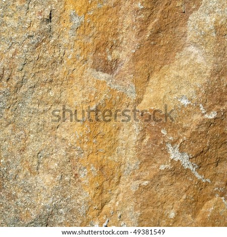 texture of yellow stone,stone wall background - stock photo