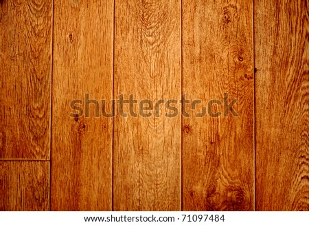 Texture - old wooden boards brown color - stock photo