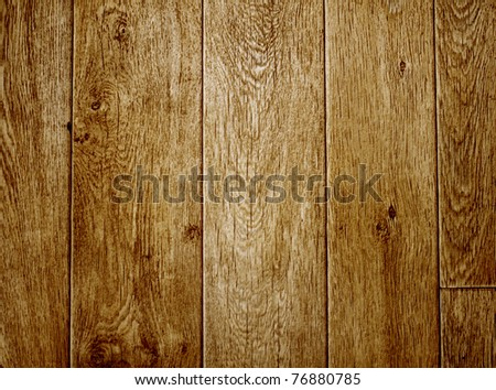 Texture old wooden boards brown color - stock photo