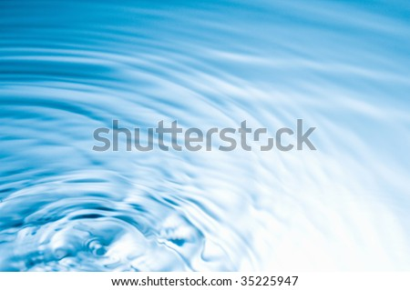 TEXTURE PATTERN-ripple of clear water - stock photo