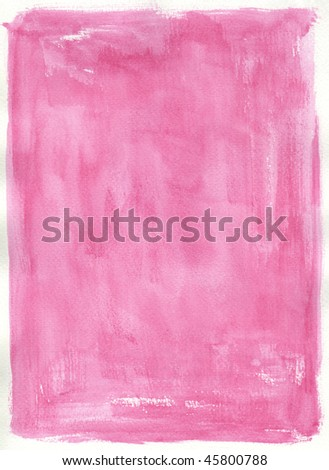texture pink watercolor background painting -  with space for your design - stock photo