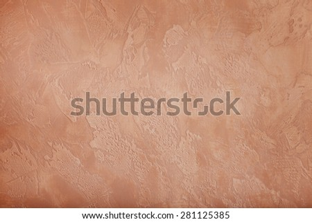 Texture plaster red color.