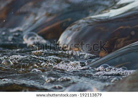 texture river creek stream - stock photo