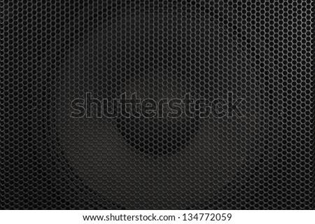 texture speaker - stock photo