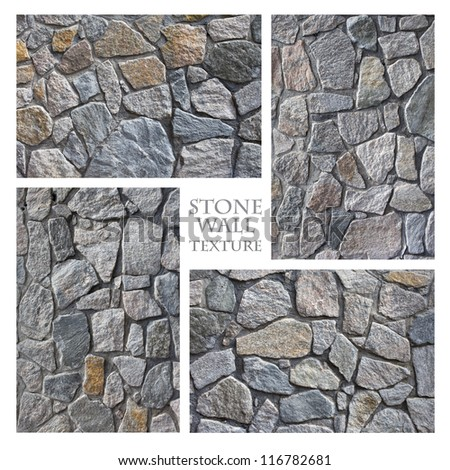 Texture: Stone Wall - stock photo