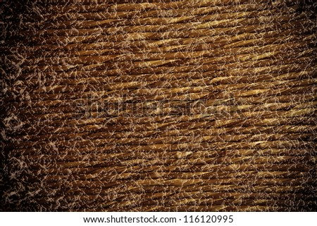 texture straw furniture - stock photo