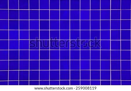 texture tile black blue color - stock photo