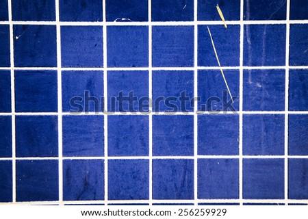 texture tile blue color - stock photo