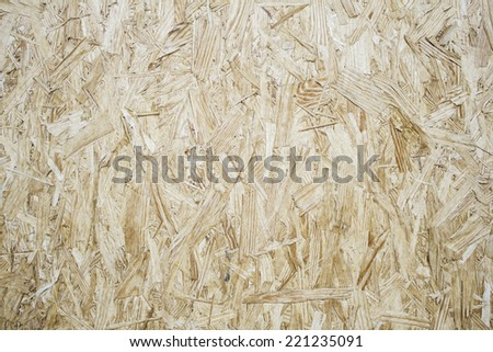 Texture urban wall wood chips, construction  - stock photo