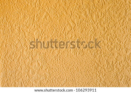 Texture Wallpaper Beige yellow - stock photo