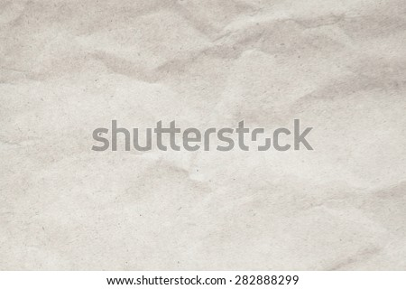 Texture white crumpled paper background. - stock photo