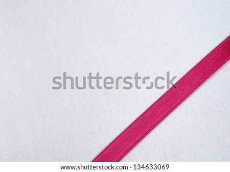 Texture with fuxia ribbon - stock photo