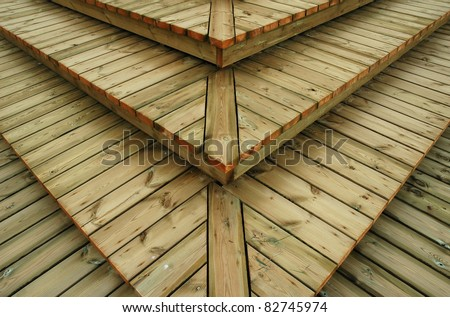 Texture - wooden boards steps