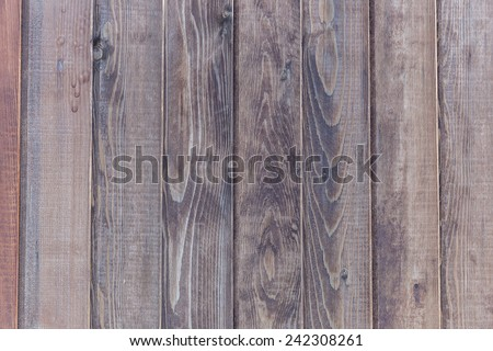 Texture wooden fence - stock photo