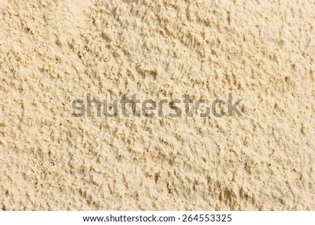 texture yellow sand, background - stock photo