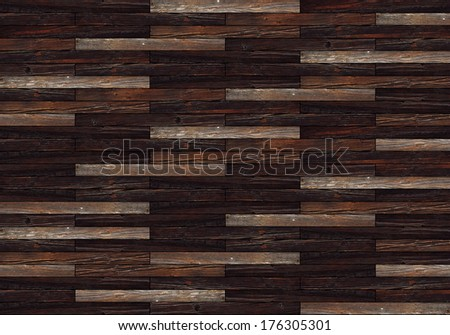 textured beautiful mahogany floor pattern for interior architectural design - stock photo