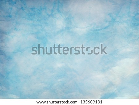 Textured blue background - stock photo