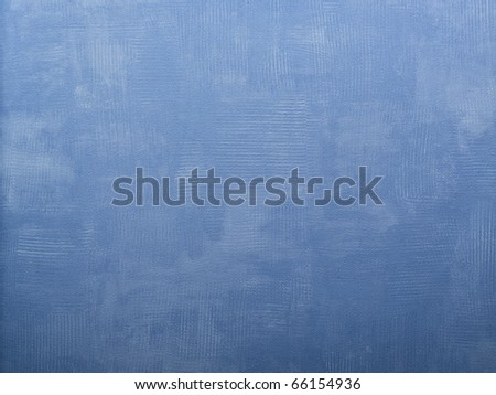 Textured blue wallpaper for background - stock photo