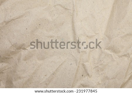 Textured brown paper background - stock photo