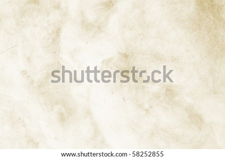 Textured clear beige background with space for text or image - scrap-booking - stock photo