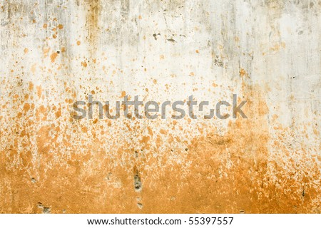 textured concrete wall - stock photo
