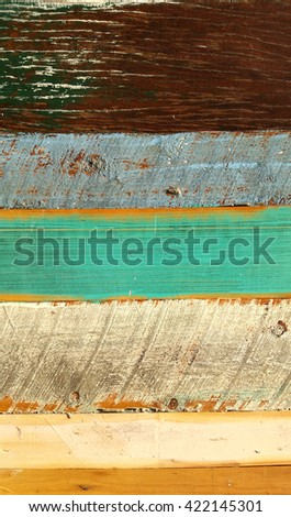 Textured Distressed Timber Background 2 - stock photo