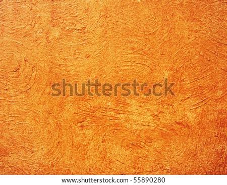 Textured exterior wall - stock photo