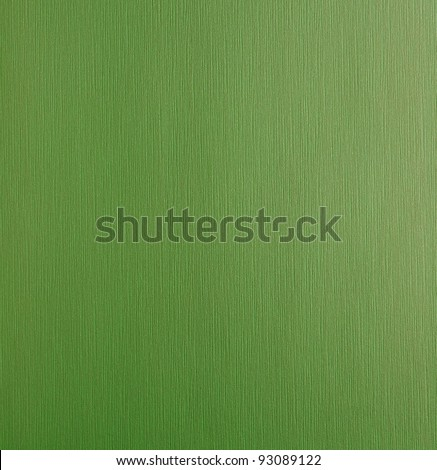 Textured green wallpaper for background - stock photo