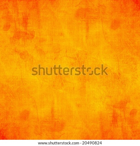 Textured grunge background in red orange and yellow colors - stock photo