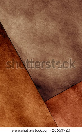 Textured grungy paper for background