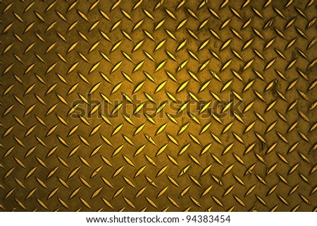 Textured Metal Background - stock photo