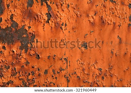 Textured metal rusty dirty yellow orange red background