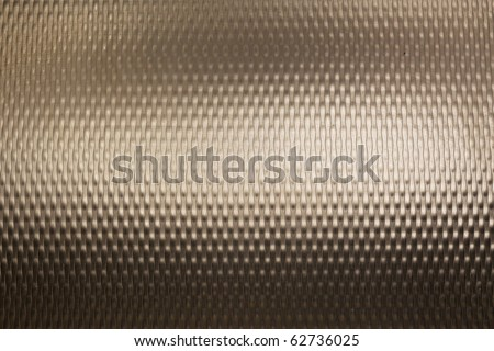 Textured metal with light reflection - stock photo