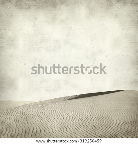 textured old paper background with barchan dunes