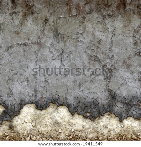 textured old wall - stock photo