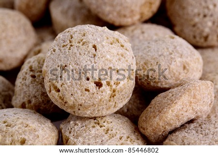 Textured Soy Protein - stock photo