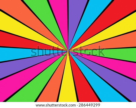 Textured Starburst - stock photo