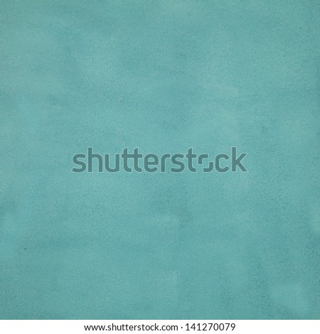 Textured turquoise background - stock photo