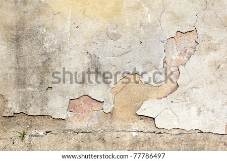 textured wall - stock photo