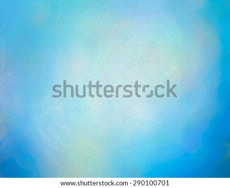 Textured Watercolor Background  - stock photo